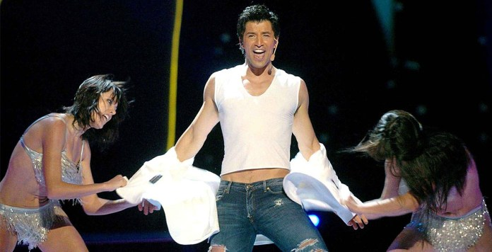 Ρουβάς Sakis Rouvas Shake It Eurovision Song Contest 2004